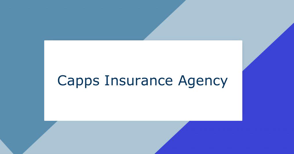 West Burlington Iowa Insurance Agency Capps Insurance